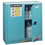 Justrite 30 Gallon Acid Storage Cabinet